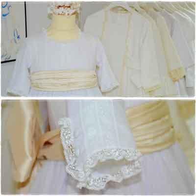 Los Detalles del Vestido de Comunión, siempre suman 2