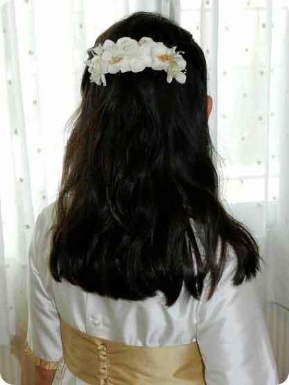 Peinados para Niñas en ocasiones especiales 1