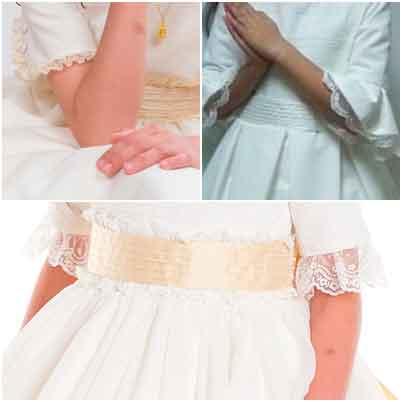 Fajín-lazada con Jaretas para Vestidos de Primera Comunión 2