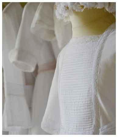 Vestido de Comunión Hortensia www.leonorysofia.com