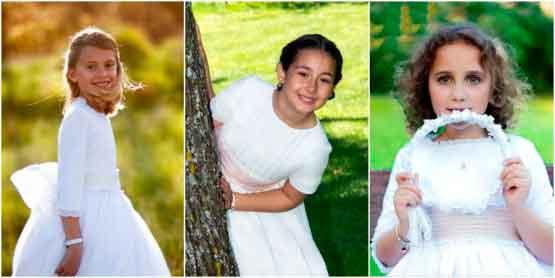 Vestidos de Comunión: ¿Blanco o Crema? 1